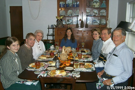 Ginger's Thanksgiving